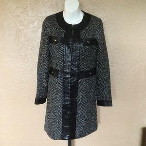 Boston Proper Herringbone Jacket 6